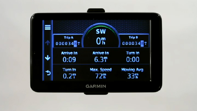 how to change route on garmin nuvi 50