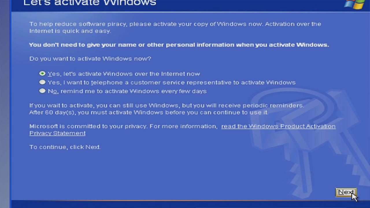Manually Activate Windows XP without Ever Having to Connect to Microsoft