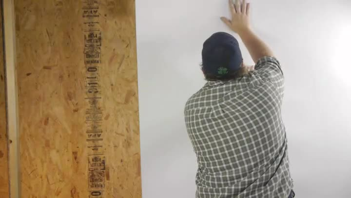 Video how to install frp wall paneling in a bathroom ehow for How to install frp wall paneling in a bathroom