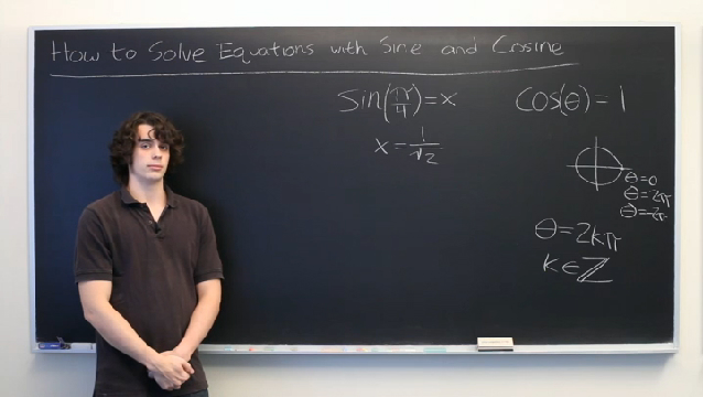 how to change a sine equation to a cosine equation