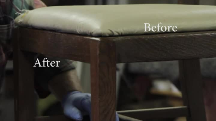 Video how to renew old furniture ehow for How to renew old nail polish