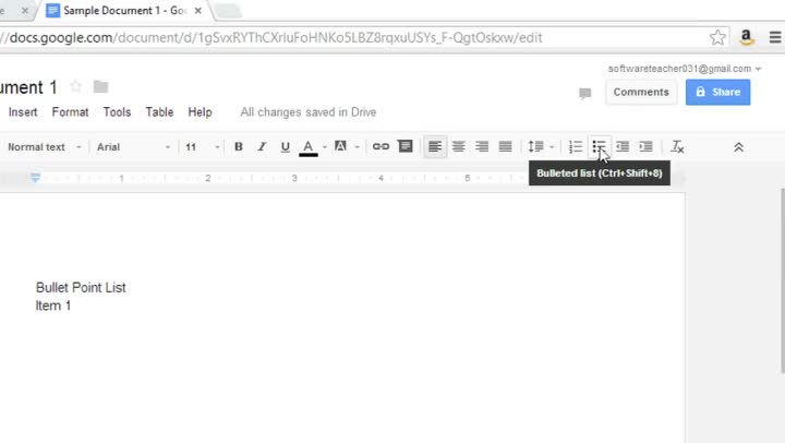 setting up google docs with pdf embed stack