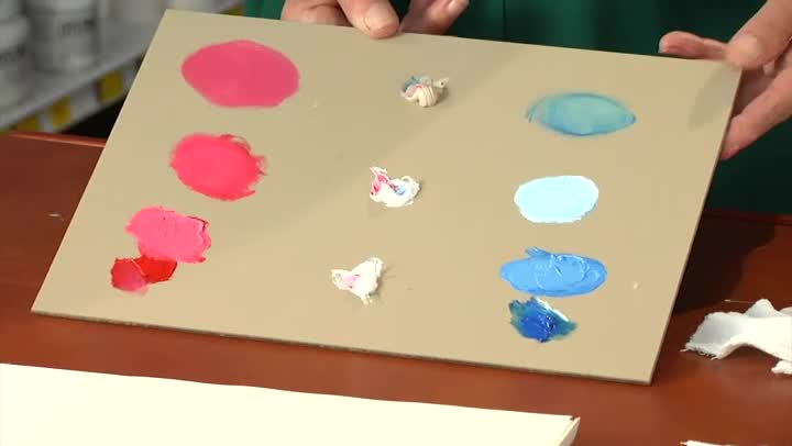 Video How To Add White To Lighten The Color Of Oil Paint