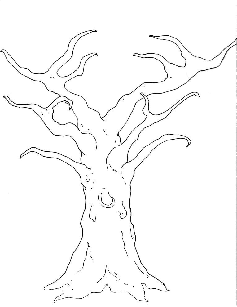 How to Draw Family Tree Using Tree Branches in Photoshop | It ...