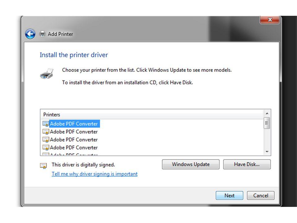 bHow to Set Up Adobe PDF Printer
