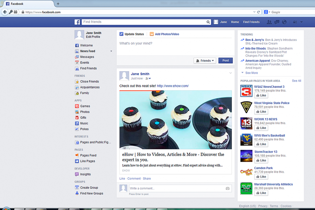 bHow to Post Links on Facebook