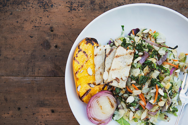 Grilled Chopped Salad with Sesame Lime Vinaigrette | eHow Food | eHow