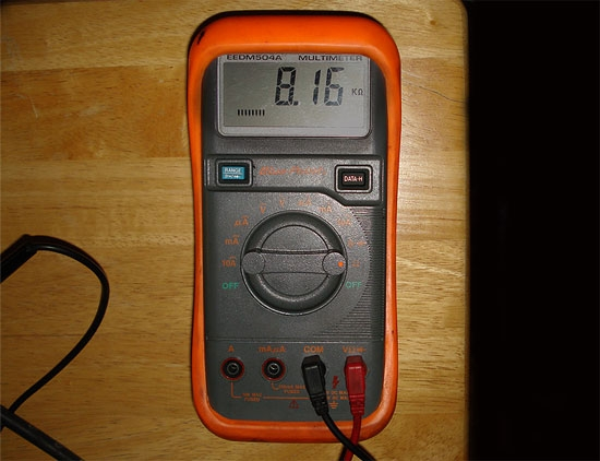 How Do You Read Ohmmeter : How to use an ohmmeter it still works giving old tech