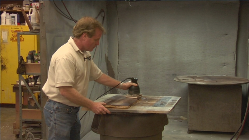 Video Finishing Wood Furniture with Lacquer  eHow