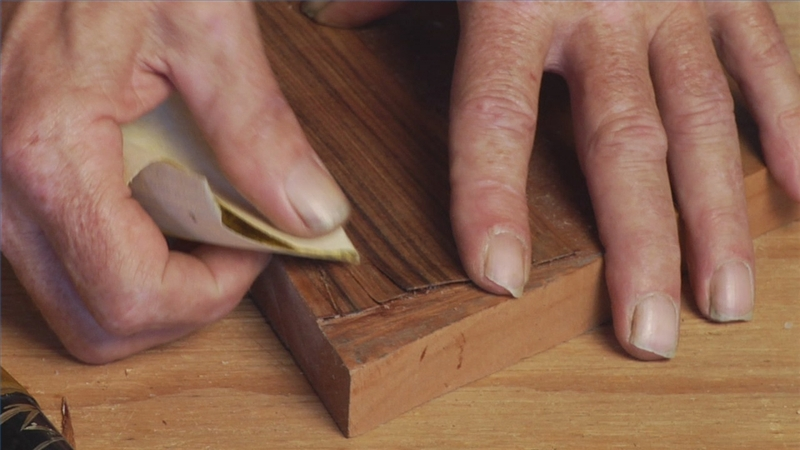how do you sand wood veneer 2