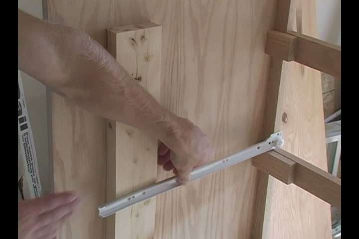how to install euro drawer slides 2