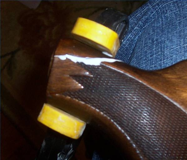 How To Repair A Cracked Or Broken Shotgun Stock