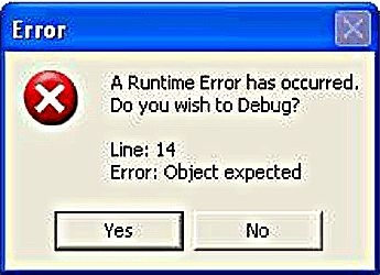 bHow to get rid of a Runtime Error
