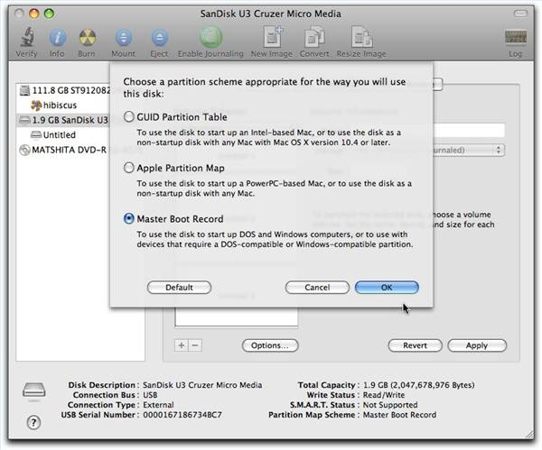 how to partition mac hard drive