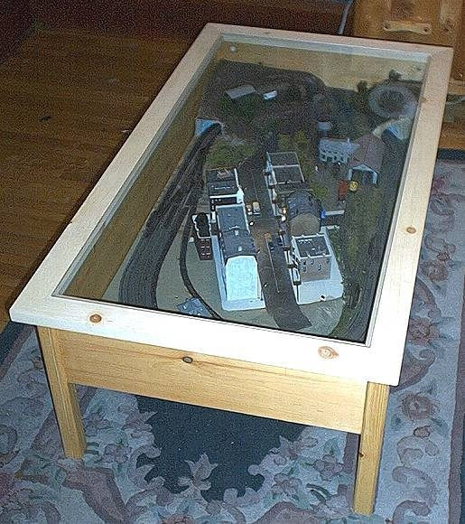 How To Make A Train Coffee Table