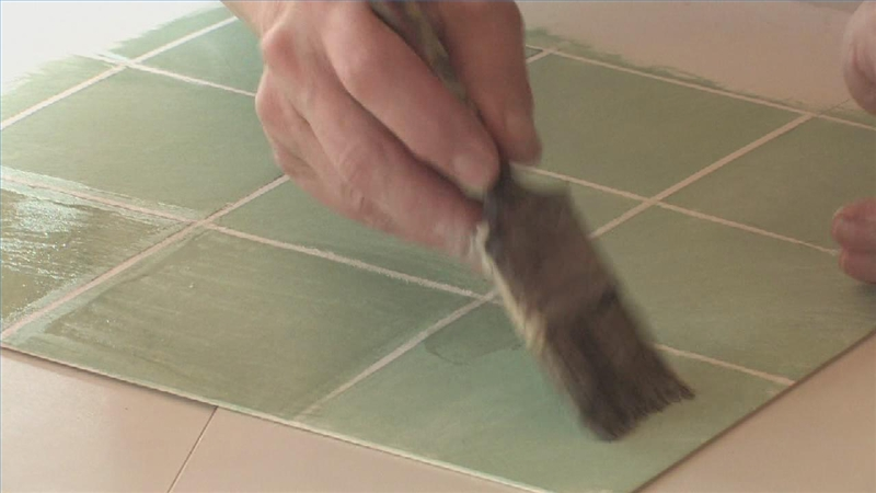 Video Hand Painting Kitchen Tile Ehow
