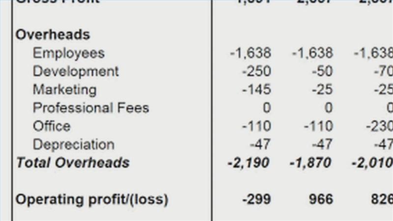 Video Preparing a Profit Loss Statement – Preparing a Profit and Loss Statement