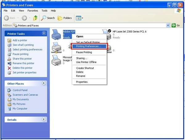 setting up a pdf printer on mac