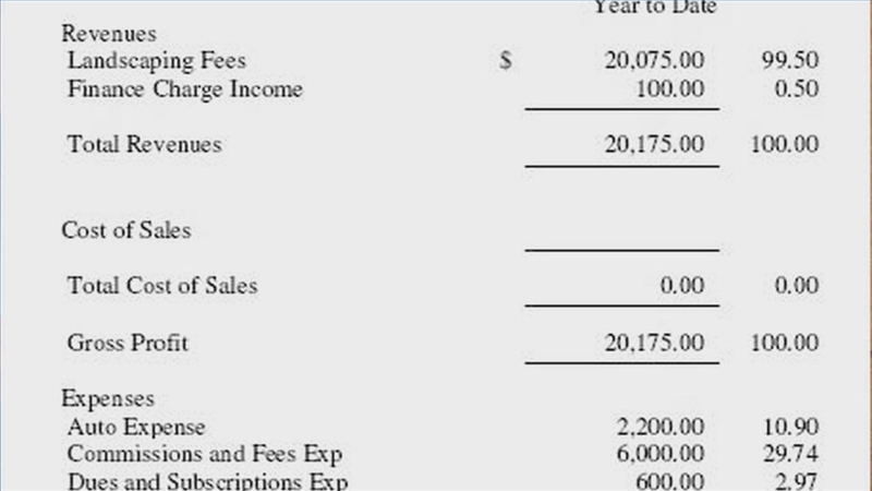 Video: How to Create an Income Statement | eHow