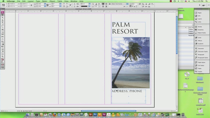 how to make a brochure - Ocife