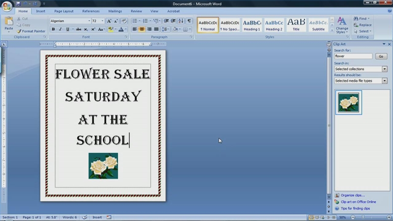 Video: How to Make a Flyer in Microsoft Word 2007 | eHow