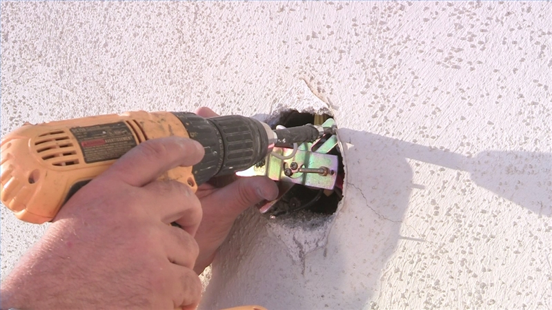 - Video: How To Install Exterior Light Fixtures EHow