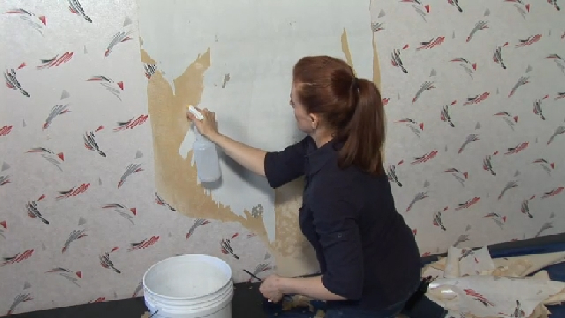 video how to remove wallpaper from drywall ehow - How To Remove Wallpaper Easily