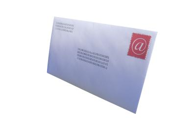 how to set out a envelope address