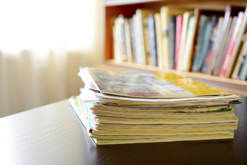 How to donate old magazines our everyday life for How to recycle old magazines