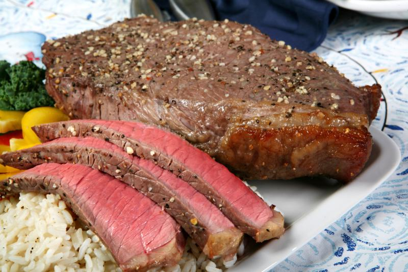 Easy top round london broil recipe