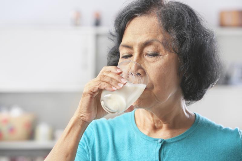 Image result for elders drinking milk