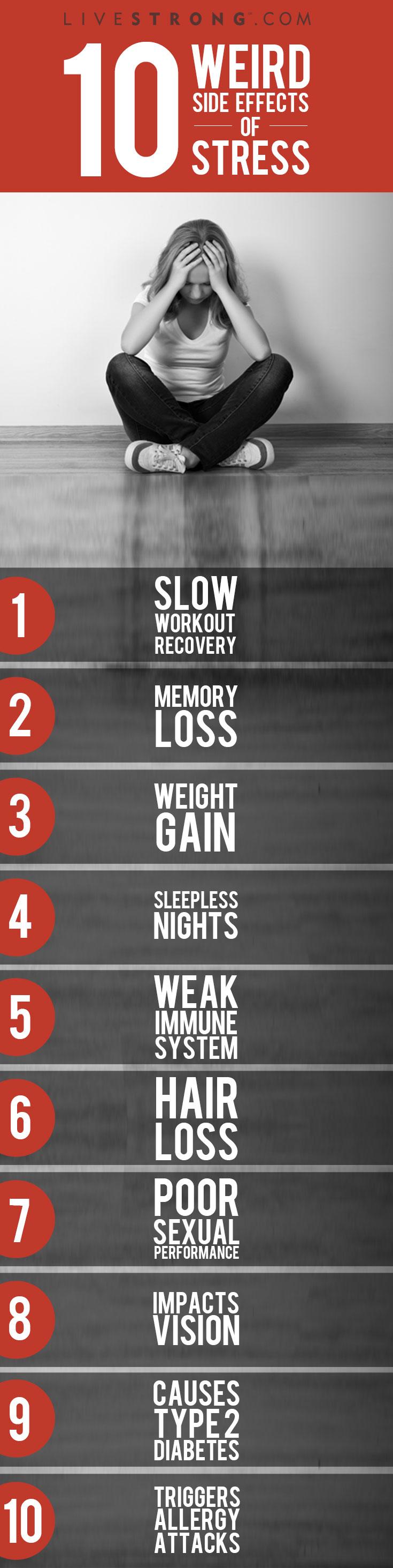 Weird Side-effects of Stress