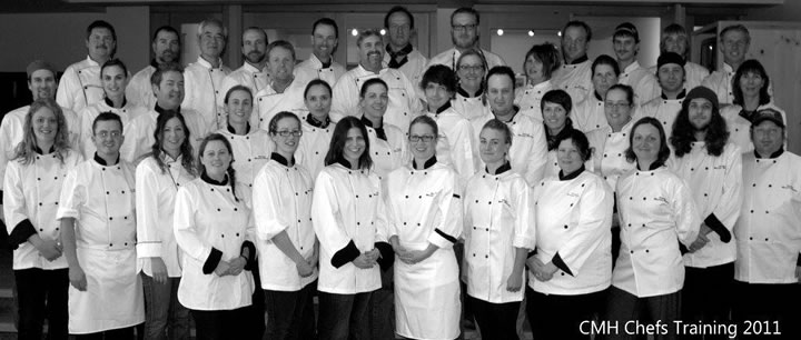 CMH Chefs - amazing food is their specialty!