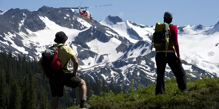 Heli-Hiking is fun for all ages