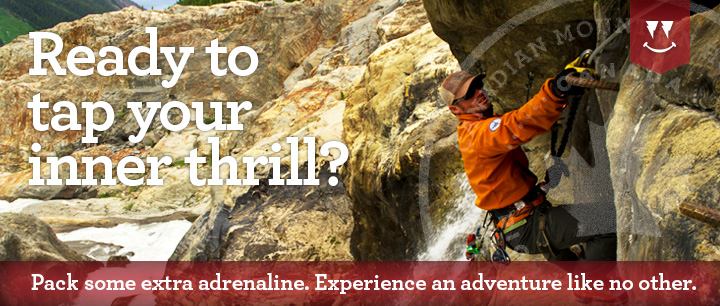 Adventure Vacations with Heli-Hiking, Zip-Lines, Via Ferrata