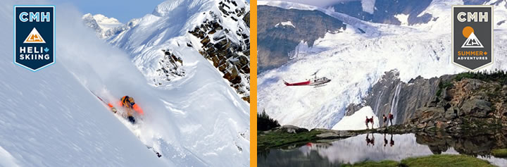 Contact CMH Heli-Skiing & Summer Adventures