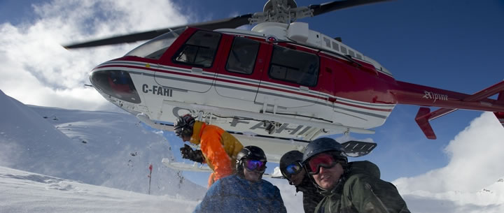 Semi-Private Heli-Skiing with CMH