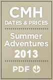 2013 Dates & Prices - CMH Summer Adventures