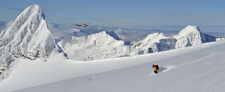 Heli-Skiing at CMH Revelstoke