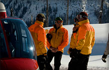 CMH Heli-Skiing Guides: Safety is our priority