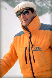 Hans Gmoser - Founder of CMH Heli-Skiing and CMH Heli-Hiking