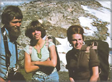 CMH Heli-Hiking Guests - circa 1978