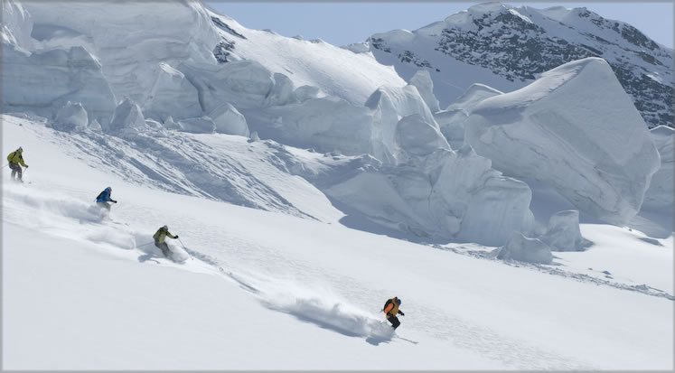 Private Trips with CMH Heli-Skiing