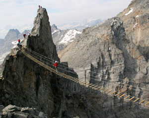 CMH Hiking Trips - Via Ferrata - Bridge