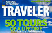 National Geographic Traveler Cover