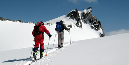Heli-Ski Touring trips from luxury lodges