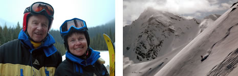 Nostalgia week at CMH Heli-Skiing