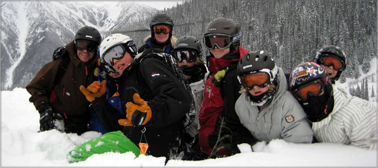 Family Heli-Skiing with CMH Heli-Skiing