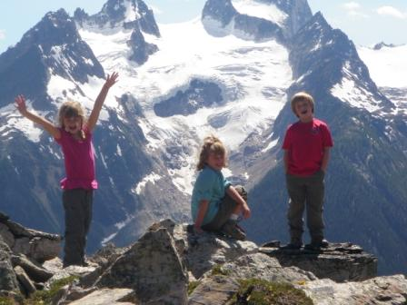 CMH 2010 Heli-Hiking Family Adventure