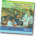 Thinking About Response to Intervention and Learning Disabilities: A Teacher's Guide
